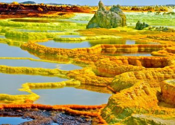 Dallol Geothermal Field