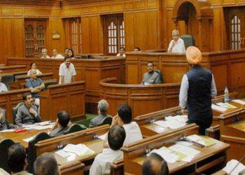 Delhi legislative Assembly winter session