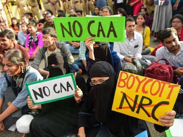 CAA-NRC Protest