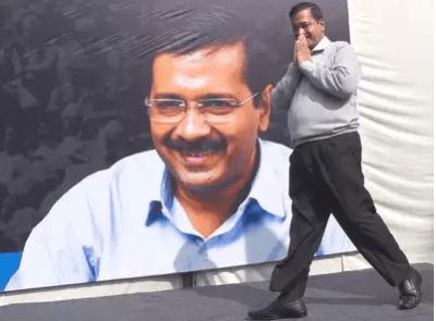 Kejriwal govt third time in Delhi