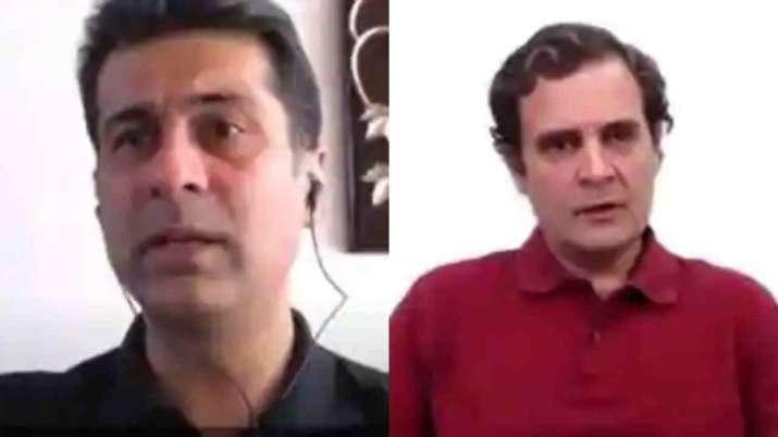 Rahul Gandhi & Rajiv Bajaj