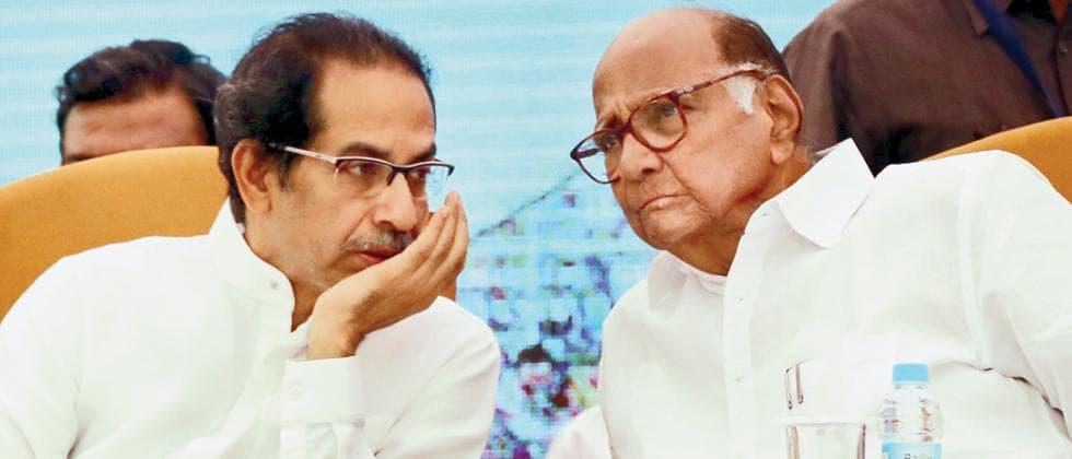 Uddhav-Thackeray-&-Sharad-Pawar