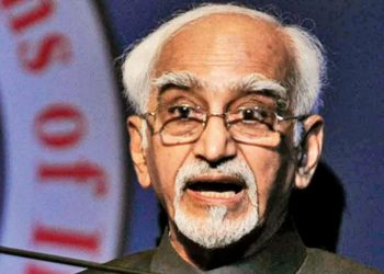Hamid Ansari society became victim of two pandemics