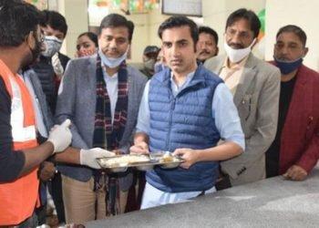 Gautam gambhir started jan rasoi