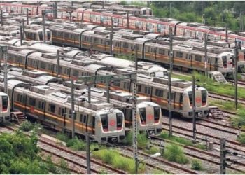 driverless metro train in delhi