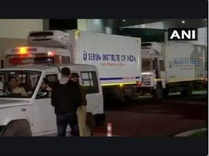 कोरोना वैक्सीन की पहली खेप पहुंची दिल्ली