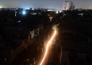 Pakistan Blackout night