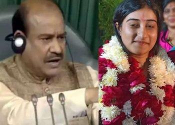 Om Birla's younger daughter cracks UPSC