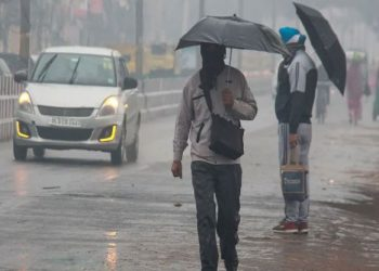 Delhi weather update