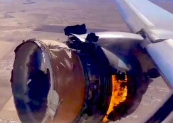 American aircraft filled with 241 people caught fire