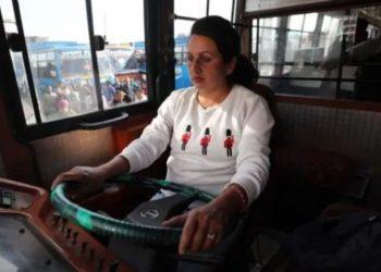 jammu kashmir women driver
