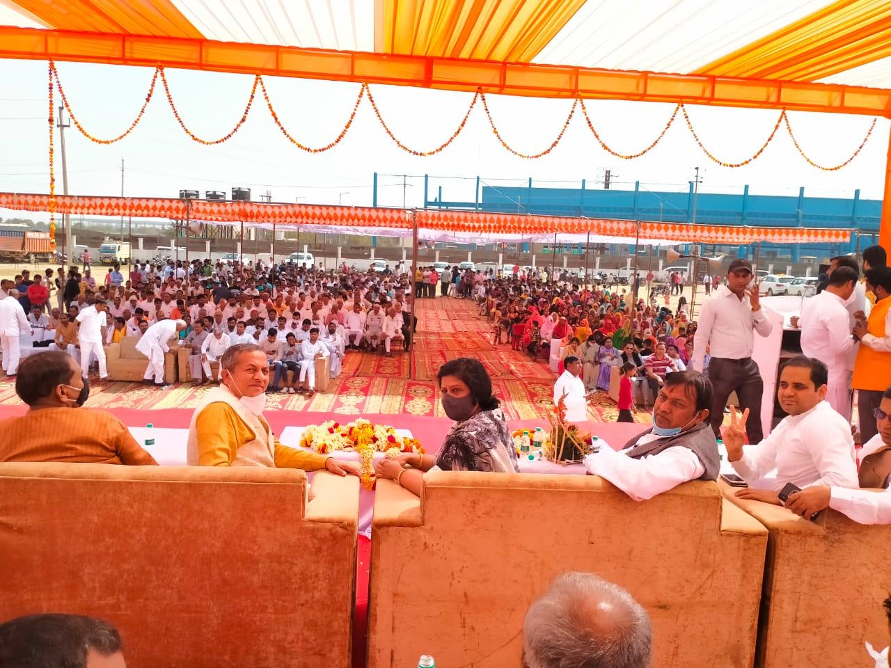 bjp meeting in gautambuddha nagar by alka singh gurjar