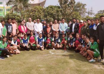 gaur international school net ball competition