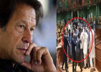 पाकिस्तान की सिंध विधानसभा कुश्ती रिंग में परिवर्तित
