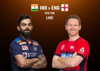 ind vs eng 5th t20
