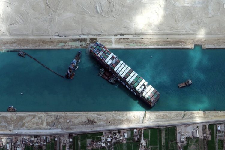 suez canal container ship ever given