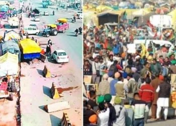 sonipat-ncr-fire-on-protesters-tents-on-gt-road-in-sonipat-city-of-haryana